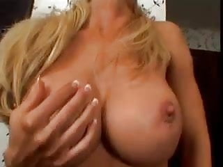 Preview 1 of Big tit bimbo blonde milf loves young stud cock