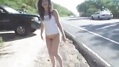 Bottomless on the Streets of Hawaii by snahbrandy