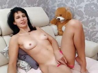 Teddy watched Mommy masturbate