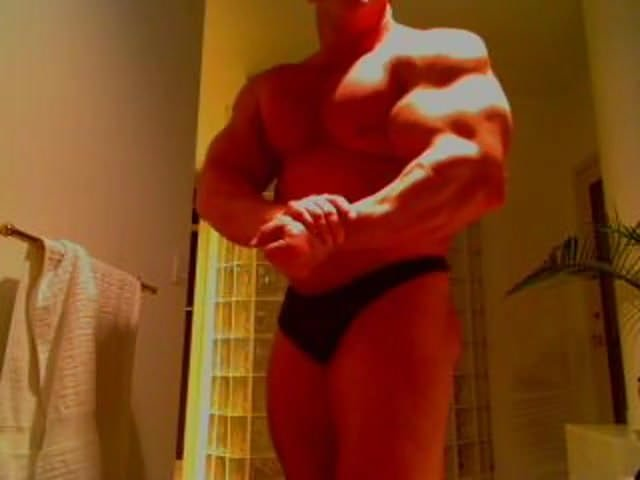 gay muscle porn clip: Big muscle guy, on hotmusclefucker.com