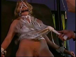 Nina Hartley Helps A Guy Enjoy His Big Tits Slave