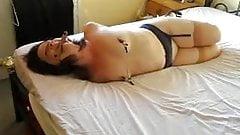 Amateur slave wife hogtied