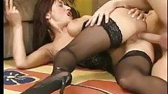 German Big tits and ass fucking