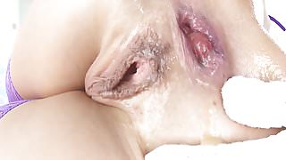 Rita Rush extreme deepthroat and anal