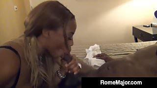 Ebony Beauty Tori Taylor Gets Wrecked By Rome Major's BBC!