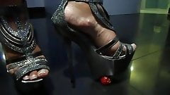 Foot fetish, Stilettos, Platform Shoes, High Heels 41