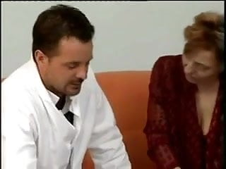 Hairy Mature fucked hard in Ass by Young Nurse