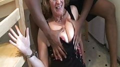 Francoise takes a black cock in the ass's Thumb