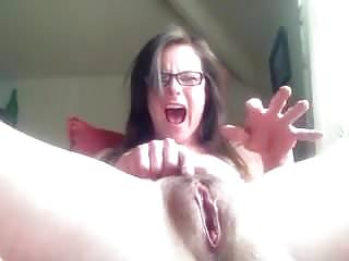 Mature Fingers Her Wet Pussy
