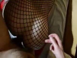en resille et levrette mon cul tendu