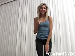 I got you hard doing my yoga so let me jerk you off JOI's Thumb