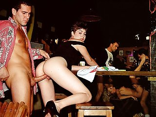 DP Orgy in the Bar