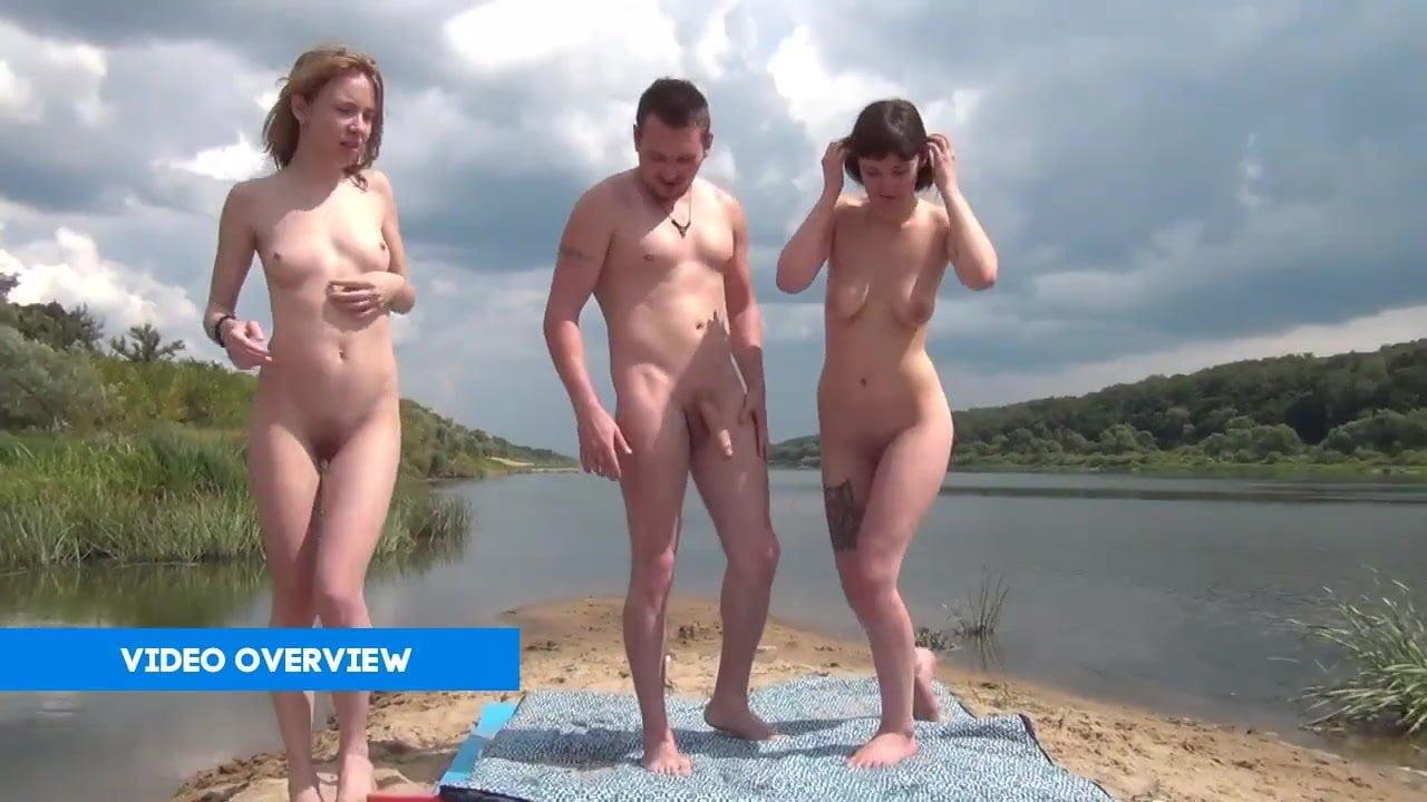 Nude beach porn tube