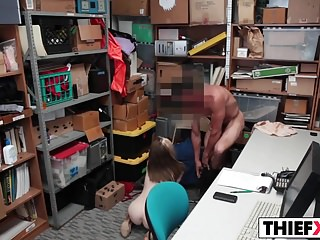 His Penis Is The Best Way Out For Sweety Thief