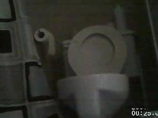 My First Bathroom Hidden Cam Caught