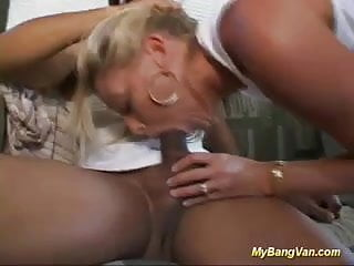 hot blonde babes first bangbus gangbang