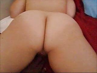 big butt white girl groped by black guy