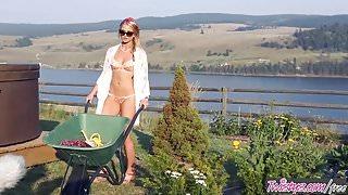 Twistys - Maya Rae starring at Tend to my Garden