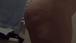 Wife After shower ass pussy tits