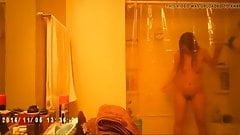 Bianca vino a ducharse en nuestra casa