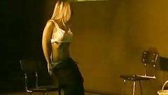 Lena Casol strips on Erotica Event