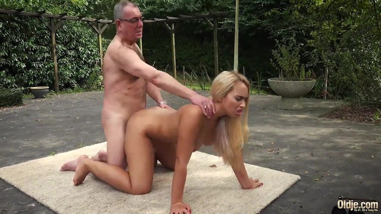 Public sex video old man