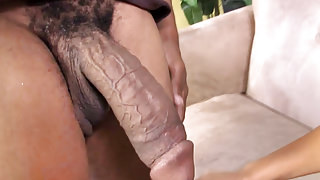 Busty MILF Karen Fisher Fucks Black Dick