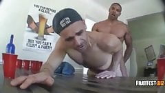 Welll muscled guy fucking his buddy
