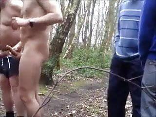 Guys outdoors