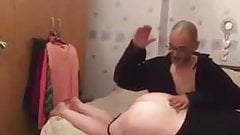 Punished spanked belted fucked (roleplay) part 1
