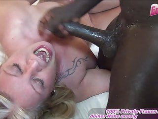 German Chubby Housewife At Blowjob With Cum Swallow Bbw Mom