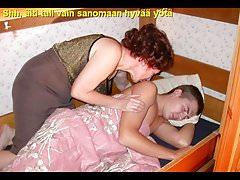 Slideshow with Finnish Captions: Mom Oleska 2