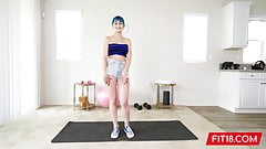 FIT18 - Jewelz Blu - 50kg - Blue Hair and Perfect Pussy