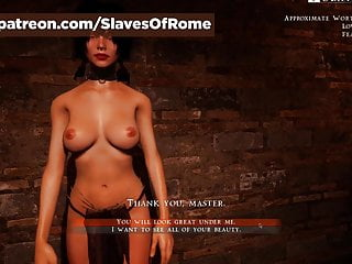 Download video bokep Slaves Of Rome Game - Julia undressing (in-game) Mp4 terbaru