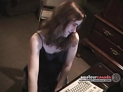 Amateur wet wife squirts after upskirt sex interview