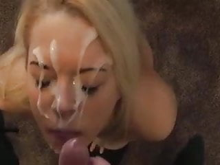 Mry Busty Girl Sucks Dick For Big Cum Facial