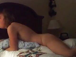 Amateur pillow humping