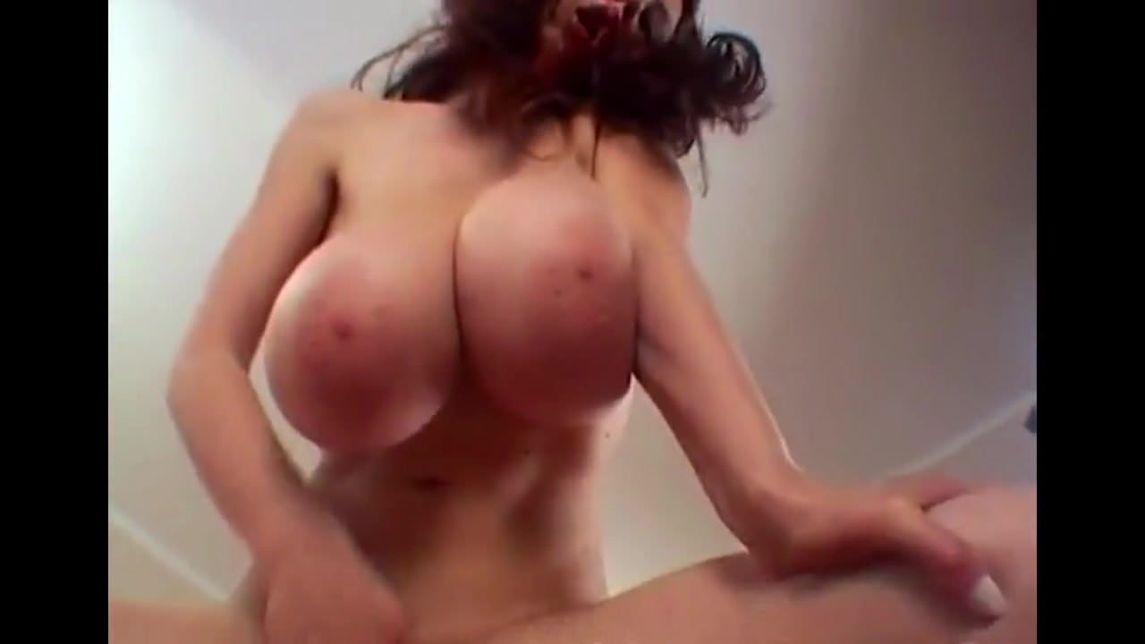 Big Huge Bouncy Yummy Boobs Massive Titty Thin Girl-9661