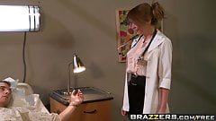 Brazzers - Doctor Adventures -  The Doctor is In scene starr