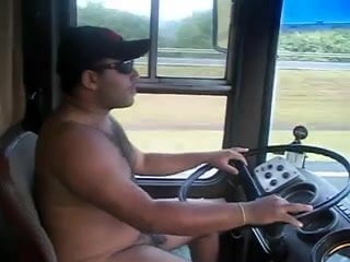 Bare nude truckers