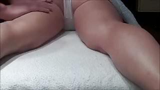 Hidden between legs massage young Russian legit preview