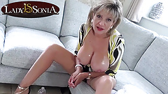 Naughty JOI from stunning mature Lady Sonia