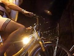 Trans on bike