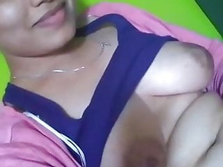 Indian Wife Boob Show And Fingering Her Pussy
