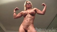Blonde Muscle Barbie Big Tits Nice Pussy's Thumb