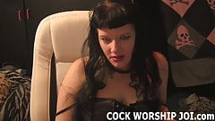 You need to practice sucking cock before the real thing JOI
