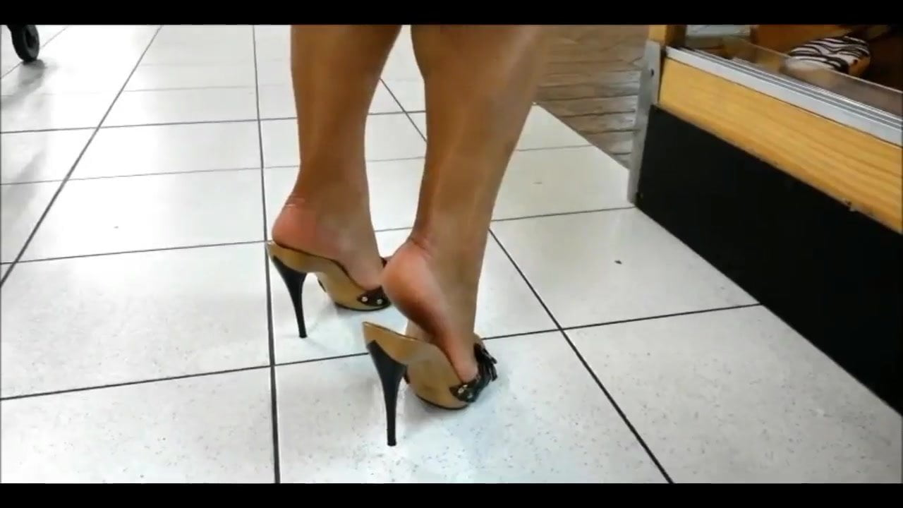 Retro fuck heels platform picture Sexy high