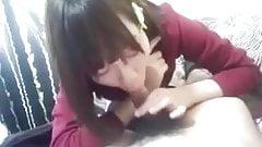 Amateur japanese cute girlfriend having fun at bedroom pt2's Thumb