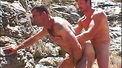 Matt Sizemore and Erick Ventura have fun