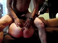 hard anal with mature